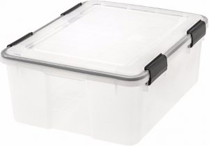 #5 IRIS 30-Quart Weathertight Storage Box