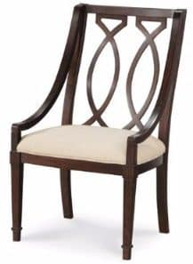 #5 Wooden Sling Back Arm Chair - Set of 2