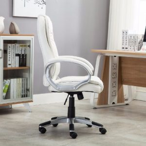 #6 Bellezza Ergonomic Office PU Leather Chair