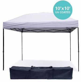 #6 Pop Up Canopy Tent 10 x 10 Feet