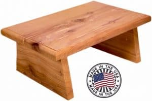 #7 AceHome Small Wooden Step Stool