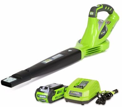 #7 GreenWorks 24252 G-MAX 40V 150 MPH Variable Speed Cordless Blower
