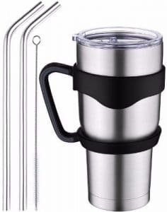#7 Homitt 30 oz Insulated Tumbler Travel Mug, Double Wall Vacuum Stainless Steel
