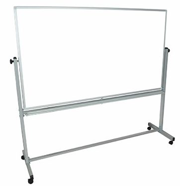 #7 Offex Reversible Magnetic Mobile 72x40 Dry Erase Whiteboard