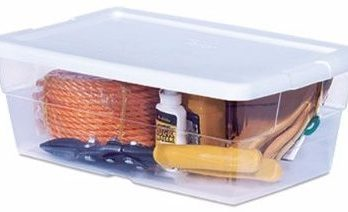 #7 Sterilite 16428012 6QT Storage Box