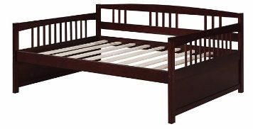 #8 Dorel Living Morgan Full Daybed, Espresso