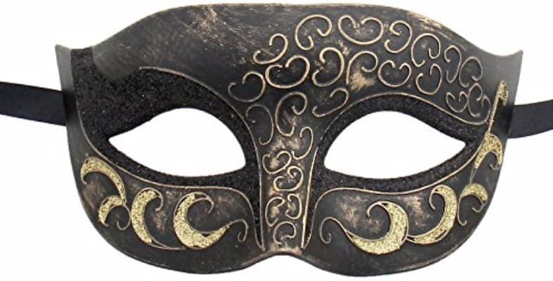 #8 Luxury Mask High Quality Antique Look Venetian Party Mask