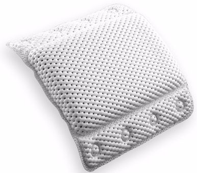 #9 BINO Super Softee Non-Slip Cushioned Bath Pillow
