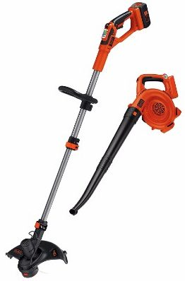 #9 BLACK+DECKER LCC140 40V MAX Lithium Ion String Trimmer and Sweeper Combo Kit