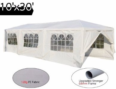 #9 Peaktop 10'x30' Heavy Duty Outdoor Party Wedding Tent