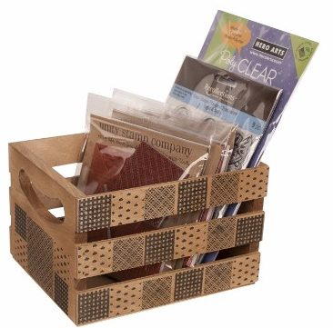 #9 Walnut Hollow 6.5 by 5.3 by 4.25-Inch Crate