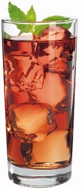 #1 Anchor Hocking Heavy Base Highball Drinking Glasses