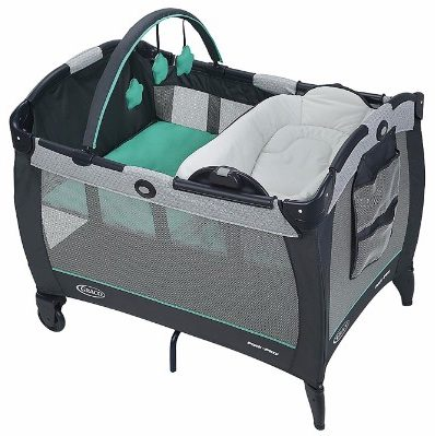 #1 Graco Pack 'n Play with Reversible Napper and Changer Playard
