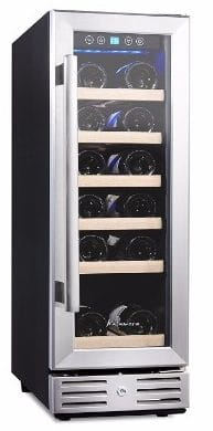 #1 Kalamera 12'' Wine refrigerator 18 Bottle Built-in or Freestanding