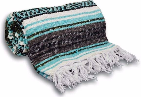 #1 YogaAccessories Traditional Mexican Yoga Blanket
