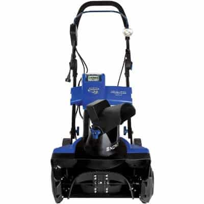 Snow Joe iON18SB-HYB Electric Cordless Snow Blower
