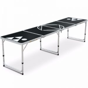 Yaheetech Beer Pong Table 8' Portable Folding Outdoor