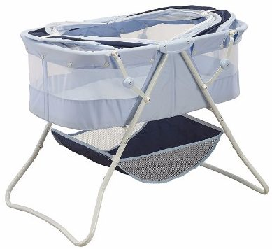 #2 Big Oshi Newborn Dual Canopy Indoor & Outdoor Travel Bassinet