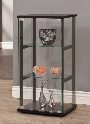 #2 Coaster Home Furnishings 950179 Curio Cabinet