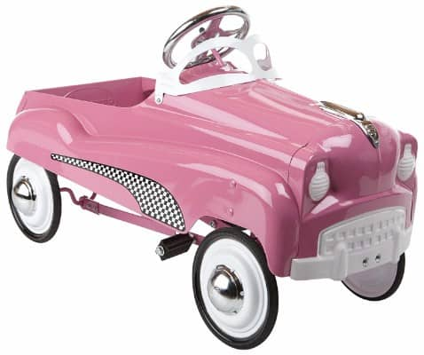 #2 InStep Pink Lady Pedal Car