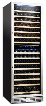 #2 Kalamera 157 Bottle Built-in or Freestanding Wine Refrigerator