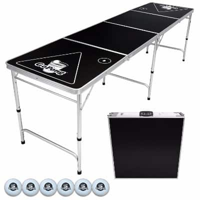 GoPong 8-Foot Portable Beer Pong Table