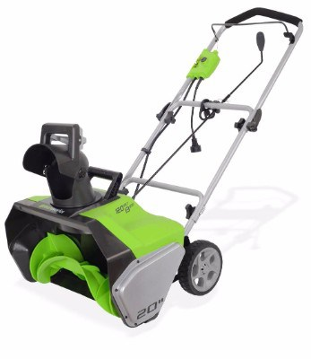 GreenWorks 2600502 Corded Snow Thrower