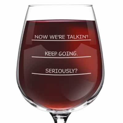 Seriously I need more wine funny wine glass, 12.75 ounce