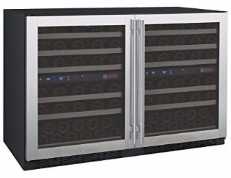 #3 Allavino FlexCount 2X-VSWR56-2SST - 112 Bottle Multi-Zone Wine Refrigerator