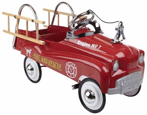 #3 InStep Fire Truck Pedal Car