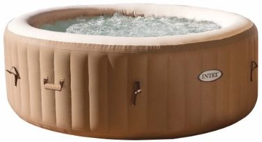 #3 Intex 77-Inches PureSpa Portable Bubble Massage Spa Set