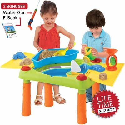 #3 Sand Water Table, Aquatic Arena Sandbox Activity Play Set