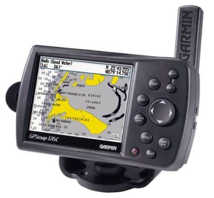 #4 Garmin GPS MAP176C 3.8-Inch Waterproof Marine GPS and Chartplotter