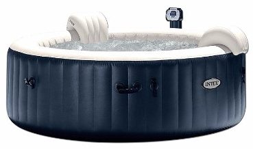#4 Intex Pure Spa 6-Person Inflatable Portable Heated Bubble Hot Tub