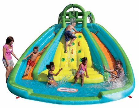 #4 Little Tikes Rocky Mountain River Race Inflatable Slide Bouncer
