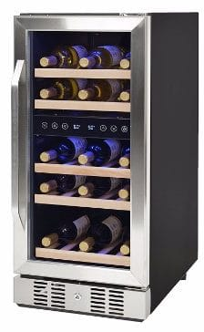 #4 NewAir AWR-290DB Compact 29 Bottle Compressor Wine Cooler