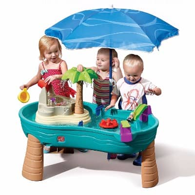 #4 Step2 Splish Splash Seas Water Table with Umbrella