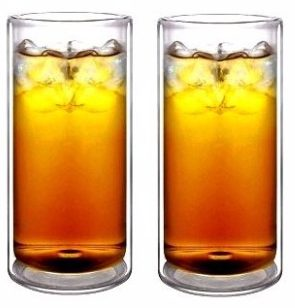 #4 Sun's Tea(tm) 16oz Ultra Clear Thermo Glass Tumbler Highball Glass