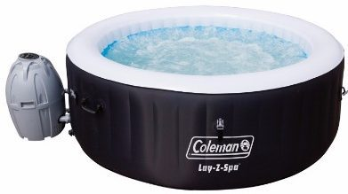 #5 Coleman SaluSpa 4 Person Portable Inflatable Outdoor Spa Hot Tub