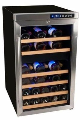 #5 EdgeStar CWF340DZ 34 Bottle Wine Cooler with Compressor