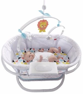 #5 Fisher-Price Soothing Motion Bassinet