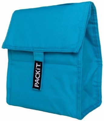 #5 PackIt Freezable Lunch Bag, Aqua