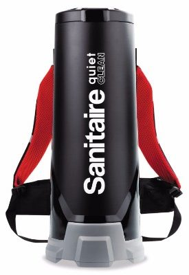 #5 Sanitaire EUKSC535 Backpack Vacuum, 11.50 amp, 2.50 gal, Black