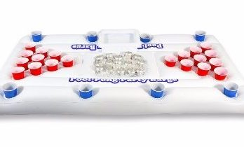 GoPong Pool Party Barge Floating Beer Pong Table