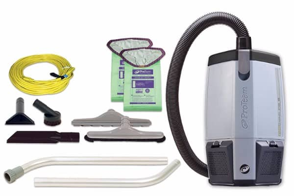 #6 ProTeam Backpack Vacuums, ProVac FS 6 Commercial Backpack Vacuum