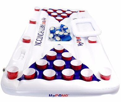 H2PONG Inflatable Beer Pong Table