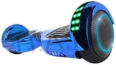 #6. Hoverboard Two-Wheel with Bluetooth Speaker and LED Light