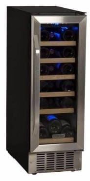 #7 EdgeStar CWR181SZ 12 Inch Wide 18 Bottle Built-In Wine Cooler