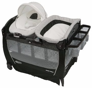 #7 Graco Pack 'n Play Playard Snuggle Suite LX, Pierce