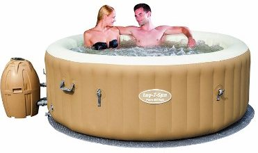 #7 SaluSpa Palm Springs AirJet Inflatable 6-Person Hot Tub